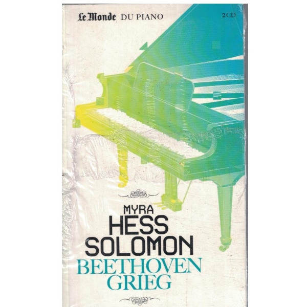 Beethoven, Grieg du piano + 2 CD