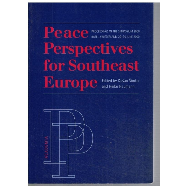 Peace perspective for Southeast Europe