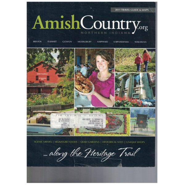 Amish country 2011 travel guide & maps