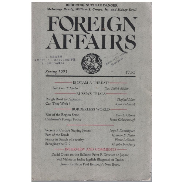 Foreign affairs spring 1993