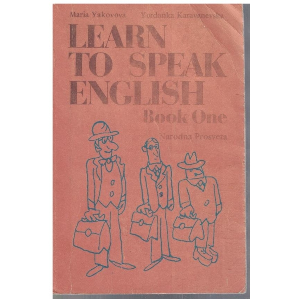 Learn to speak English - book 1