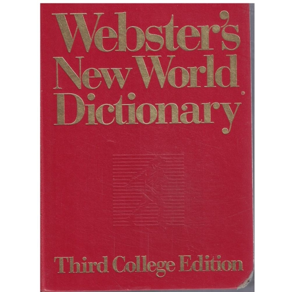 Webster's New World Dictionary of American English